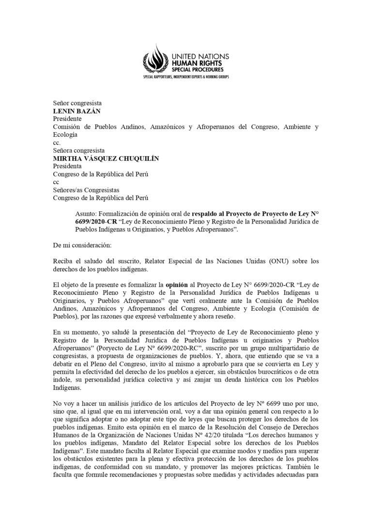 Carta-a-Congreso-Relator ONU- PL de Personalidad Jurídica_pages-to-jpg-0001